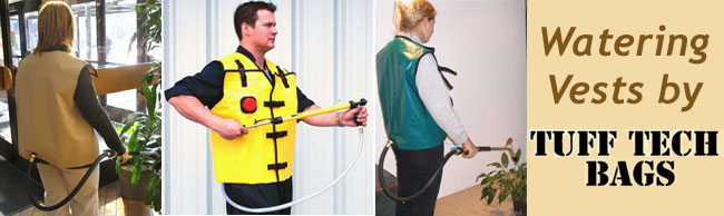 Tuff Tech Watering Vests, a different solution for water hauling.  